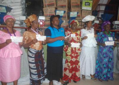 women given empowerment
